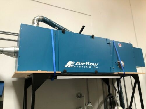 AirFlow Systems F120 Ambient Air Cleaner Dust Collector 3800CFM 3 HP Blower 2019