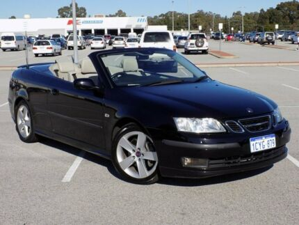 2007 Saab 9-3 442 MY2008 Aero Black 6 Speed Sports Automatic Convertible Maddington Gosnells Area Preview