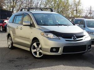 2007 Mazda Mazda5 GT-Accident free-Leather-Sunroof