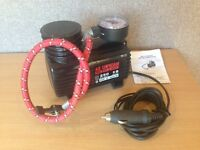 12V DC Mini Air Compressor / Tyre Inflator - ideal for scooter, bike or car emergencies!