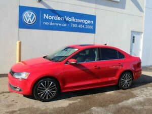 2014 Volkswagen Jetta Sedan 2.0 TDI HIGHLINE 6SPD MANUAL - LEATH