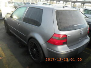 VW GTI 1.8T 5 speed (PARTS ONLY)