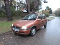 Corsa cheap car , like a fiesta , clio, or micra