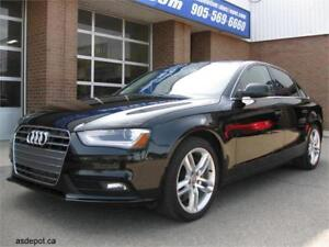2013 Audi A4 Premium Plus Quattro w/Navigaiton, Back-up camera,