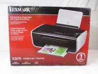 Lexmark Printer/Scanner/Photocopier In Excellent Clean Working Condition May Deliver
