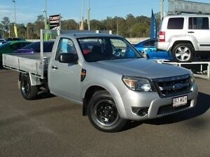 2009 Ford Ranger PK XL (4x2) Silver 5 Speed Manual Cab Chassis Wacol Brisbane South West Preview