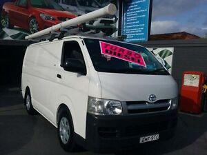 2005 Toyota Hiace KDH200R LWB White 5 Speed Manual Van Greenacre Bankstown Area Preview