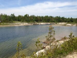 1.7 acres of waterfront land in the Northern Bruce Peninsula