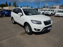 2012 Hyundai Santa Fe CM MY12 SLX CRDi (4x4) White 6 Speed Automatic Wagon Geraldton Geraldton City Preview