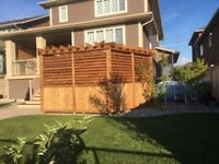 Need a deck or fence for your new home?