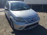 2007 Citroen C3, starts and drives well, MOT until March 2017, 86,000 miles, car located in Gravesen