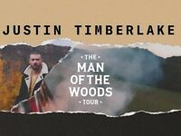 Justin Timberlake FRONT ROW Tickets O2 Arena London 11/7/18