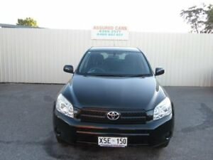 2008 Toyota RAV4 ACA33R CV (4x4) Black 5 Speed Manual Wagon Windsor Gardens Port Adelaide Area Preview