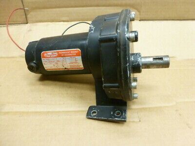 Tested Dayton 4z531a Dc Electricgear Motor 115 Hp 90 Volt Dc 13 Rpm Gearmotor