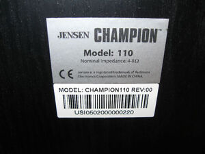 Jensen Champion 110 Bookshelf Speakers Cornwall Ontario image 4