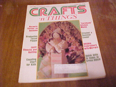SUMMER 1983 CRAFTS 'N THINGS MAGAZINE PATTERNS