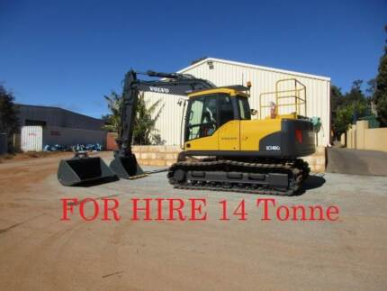 Volvo Excavator FOR DRY HIRE 14 Tonner Pickering Brook Kalamunda Area Preview
