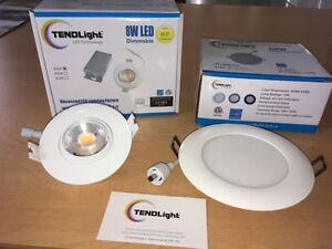 LED 3 & 4 inch Dimmable Downlights PROMO