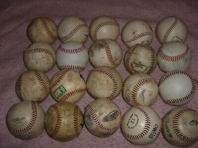 Baseball Ball Lot 20 Practice Balls  R18