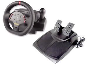 Logitech MOMO Racing Force Feedback Wheel and Pedals
