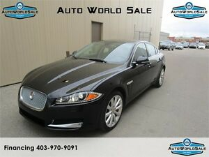 2014 JAGUAR XF -3.0 AWD|PREMIUM-WARRANTY-LOW KM