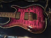 Schecter Hellraiser Guitar C-1-HR-FR-LTD-STPB