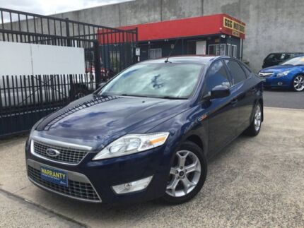 2007 Ford Mondeo MA TDCi TURBO DIESEL AUTOMATIC Blue 6 Speed Automatic Sedan Underwood Logan Area Preview