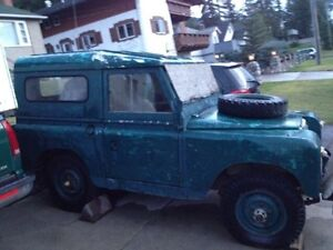 1962 Land Rover series  88