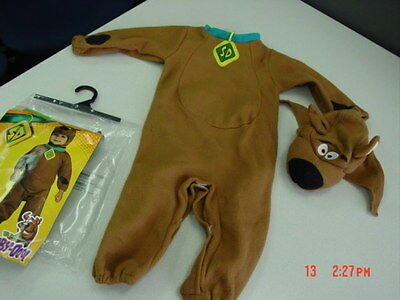 NWT Toddler Scooby Doo Halloween Costume New 2 Piece Dog Puppy Adorable Girl Boy - Girl Puppy Halloween Costume
