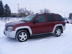2006 CHEVROLET TRAILBLAZER LS--HEATED LEATHER--