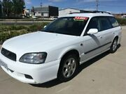 2002 Subaru Liberty B3 MY02 GX AWD Special Edition White 4 Speed Automatic Wagon Fyshwick South Canberra Preview