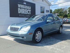 2003 Mercedes-Benz C-Class SEDAN C240 4MATIC 2.6 L
