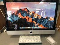 """Apple iMac 27 """" Intel i5 2.8Ghz, 8gb RAM & 1TB HDD Latest OSX Sierra 10.12.3 ONLY £549"""