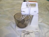 RETRO VINTAGE 1970s PHILIPS FOOD MIXER HR1171 MADE IN HOLLAND *NO TEXTS PLEASE*