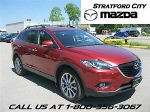2015 Mazda CX-9 GT Certified Pre Owned! Rates starting at 0.9%