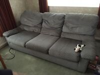 G Plan 3 seater settee and arm chair