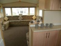 Sited static caravan for sale - 8 berth 3 bedroom on Withernsea Sands Holiday Park, East yorks coast
