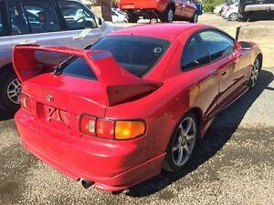 1995 Toyota Celica ST204R SX Red 5 Speed Manual Liftback Caloundra West Caloundra Area Preview