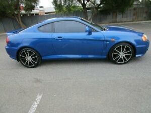 2005 Hyundai Tiburon 05 Upgrade V6 6 Speed Manual Coupe Clearview Port Adelaide Area Preview