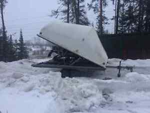 Used Enclosed Snowmobile Trailer