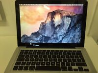 "13"" Apple MacBook Pro 2.4GHz 4GB RAM 160GB HDD A1278 Late 2008"