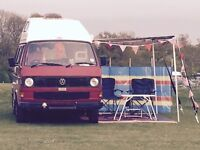 VW Type T25, Well loved Camper called Cherry.Very reliable and good condition