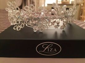 Swarovski Liza Bridal Head piece