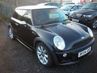 MINI HATCH COOPER 1.6 COOPER 3d 114 BHP Bargain price (black) 2004