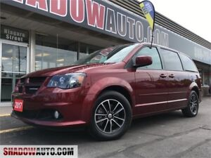 2017 Dodge Grand Touring Caravan- LOADED! pw doors, stow n go,