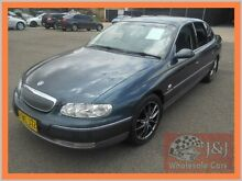 2001 Holden Statesman Whii V8 Grey 4 Speed Automatic Sedan Warwick Farm Liverpool Area Preview