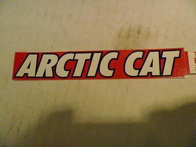 NEW OEM ARCTIC CAT SNOWMOBILE DECAL PART # 6611-737