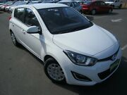 2015 Hyundai i20 PB MY15 Active Clear White 4 Speed Automatic Hatchback St Marys Mitcham Area Preview