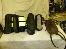 Range of horse exercise boots