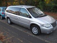 2004 CHRYSLER GRAND VOYAGER DIESEL LTD XS AUTO 7 SEATER MOT/SEPT PART X